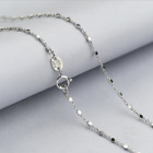 Fashion Classic 925 Sterling Silver Twisted Cross Chain Necklace SOLID Jewelry