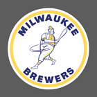 Milwaukee Brewers Wisconsin Vintage Logo 1970-1977 Sticker Vinyl Vehicle Decal on Ebay