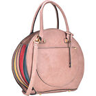 Dasein Oval Shaped Satchel with Shoulder Strap 6 Colors