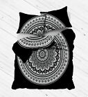 Decorative Mandala Indian Reversible Donna Duvet cover Hippie Bedding Bedspread