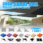 Sun Shade Sail Outdoor Garden 300D Canopy Patio Cover Windshield Protect  ❤