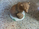 grizzly bear franklin mint figurine 1989 made in thialand