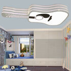Cartoon Children Ceiling Lamp LED Lighting Shade Guitar Type Chandelier Fixtures