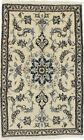 Classic Design Small Hand Knotted Persian Rug 3X5 Oriental Home Décor Carpet