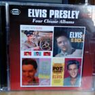 Elvis Presely Music CD 4 classic albums Elvis is Back, Pot Luck 2 disc set