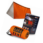 Go Time Gear Life Tent Emergency Survival Shelter – 2 Person Use As,, Tube, Tarp
