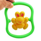 Cute Baby Infant Kids Music Plastic Hand Jingle Shaking Bell Rattle Toy WE