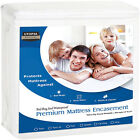 Premium Zippered Matress Encasement Zipper Opening Mattress Protector Waterproof image