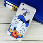 New Disney Cartoon Soft TPU Rubber Phone Shell Case Back Cover For Phone 6Plus