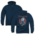 BETTY BOOP TEAM BOOP Licensed Zipper Hooded Sweatshirt Jacket SM-3XL $49.96 USD on eBay