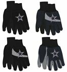 NFL Dallas Cowboys Assorted Adult 2-Pack No Slip Gripper Utility Gloves NEW! on eBay