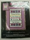 New SANDI PHIPPS #1021 Mothers Are Sent From Heaven Counted Cross-Stitch Kit