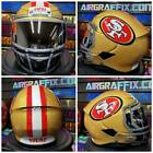 San Francisco 49ers Custom Painted Airbrushed Motorcycle Helmet $799.0 USD on eBay