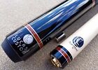 Lucasi LZD6 Pool Cue, Mystic Black, Reddish & Silver Rings, Black Irish Linen $378.64 CAD on eBay
