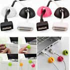 Adhesive Cable Clip Desktop Line Organizer Charge Holder Fixer Cord Management