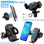 Mpow Car Mount Phone Holder Magnetic Air Vent Cradle Grip Stand For i Phone XS