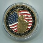 US  ARMED FORCES PAST & PRESENT    Commemorative Challenge Coin