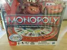 Cars 2 Monopoly Racetrack board game #27810 ages 5 and up