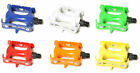 "Fixed Gear Platform Pedals 9/16"" - Many Colors"