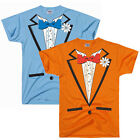 Tuxedo Tee Shirt Costume Dumb and Dumber Halloween Tux T Shirt Parody Funny T