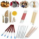 Ceramic Smoothing Shapers Polymer Clay Wax Pottery Sculpting Carving Tool Kits image