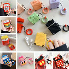For Apple Airpods Charging Case Earbuds Protector Cover 3D Cute Silicone Cartoon $8.14  on eBay
