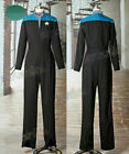 Hot Star Trek: Voyager Cosplay Captain Kathryn Janeway Costume&kl9 on eBay