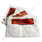 A4 / C4 PRINTED DOCUMENT ENCLOSED WALLETS LABELS SLIPS CHEAP OFFER *SELECT QTY*