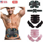 Rechargeable ABS Simulator EMS Training With Belt Abdominal Muscle Exerciser image