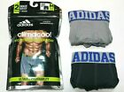 Men's adidas Athletic Climacool Micro Mesh 2-Pack (Gray/Charcoal) Boxer Brief