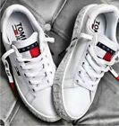 Tommy Jeans Sneaker Running Sport Casual Shoes Womens Unisex White Trainers HOT