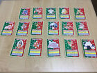 JAPANESE TOPSUN POKEMON CARDS LOT of 15 + 1 ERROR CARD ( No Number)