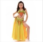 Kid Professional Belly Dance Costume Set Performance Dance Outfit Children Dress