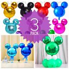 Kyпить Mickey Minnie Mouse Birthday party foil balloons 3 pack baby shower centerpiece на еВаy.соm