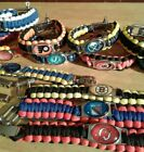 NHL Hockey Paracord Bracelet Survival Wristband Military Spec550 Zinc Alloy Logo $12.00 USD on eBay