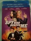 The Spy Who Dumped Me (Blu-ray / DVD, 2018, 2-Disc Set) Digital not included
