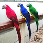 Simulation Parrot Tree Fake Parrot Artificial Animal Bird Ornament Garden Decor