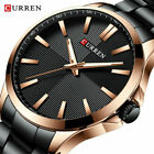 CURREN Watches Men Fashion Watch Stainless Steel Wristwatch Business Waterproof image
