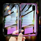 Luxury Case Cover for iPhone X XsMax XR 7 8 Plus 360° Front Back Magnetic Glass