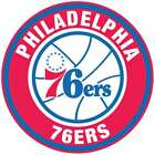 Philadelphia 76ers Circle Logo Vinyl Decal / Sticker 5 sizes!! on eBay