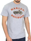 Harley-Davidson Mens Rustic Motorcycle Grey Heather Short Sleeve Biker T-Shirt $9.99 USD on eBay