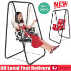 Stand Steel Frame Hanging Hammock Swing Chair Seat Garden Balcony Yard Max 150kg