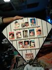12-1995 HAMILTON COLLECTION MICKEY MANTLE PORCELAIN CARDS SET W/BOARD RARE LOOK