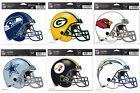 NFL Football Reusable Helmet Decal Sticker Emblem on eBay