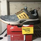 DS 2016 Nike Air Presto SE QS Safari (844448-002) Sz M 10-11 Kumquat