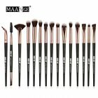 MAANGE 15PCS Makeup Brushes Eyeshadow Brush Eyebrow Make Up Brushes Set Hair