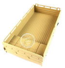 JJRC Rear Open-topped containercompartments Parts for JJRC Q64 RC Car Yellow