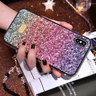 Daimond Matte Soft Rubber Shockproof Case Cover For iPhone XS Max XR 7 8 Plus