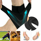 Adjustable Sports Elastic Ankle Brace Support Basketball Protector Foot Wrap US $7.89 USD on eBay