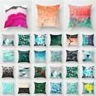 Simple Geometric Home Decorative Waist Throw Square Pillow Case Cushion Cover